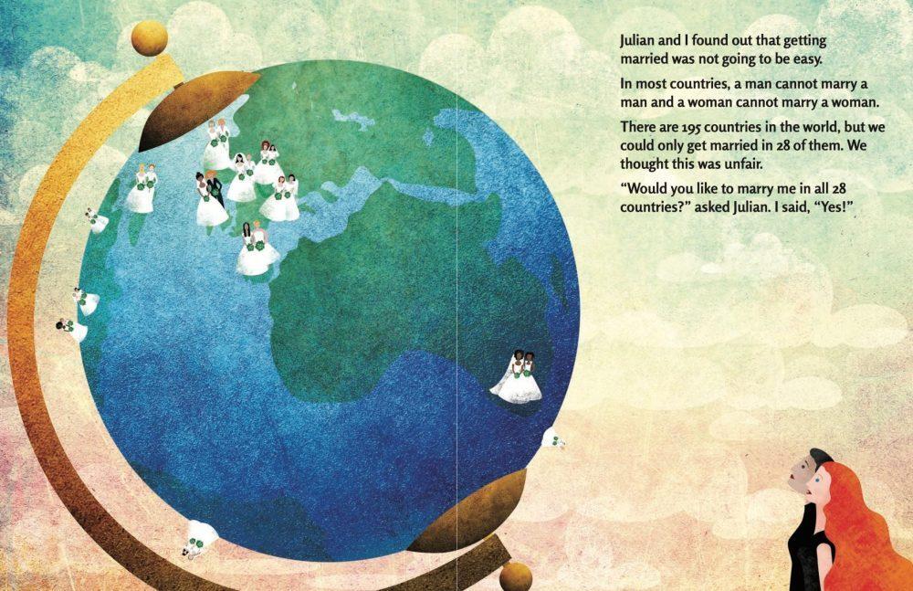 Love Around the world spread 1